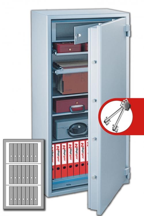 DSP Feuersicherer Wertschutzschrank FeuerPlus 120