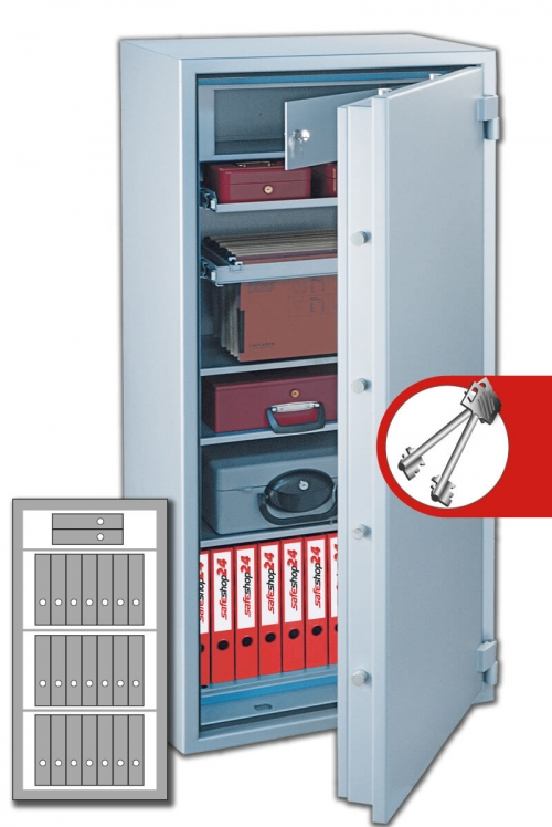 DSP Feuersicherer Wertschutzschrank FeuerPlus 140