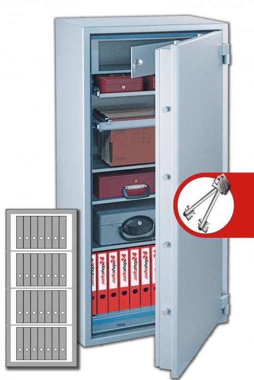 DSP Feuersicherer Wertschutzschrank FeuerPlus 160