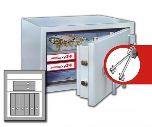 DSP Feuersicherer Wertschutzschrank FeuerPlus 70