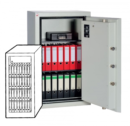 Sistec Wertschutzschrank SE I-4 LFS60P