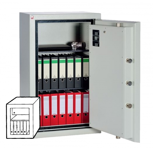 Sistec Wertschutzschrank SE II-0 LFS60P