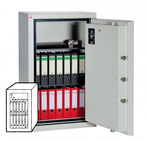 Sistec Wertschutzschrank SE II-1 LFS60P