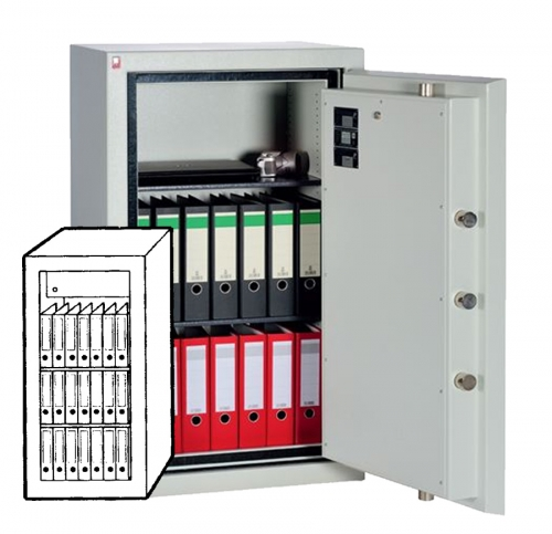 Sistec Wertschutzschrank SE II-3 LFS60P
