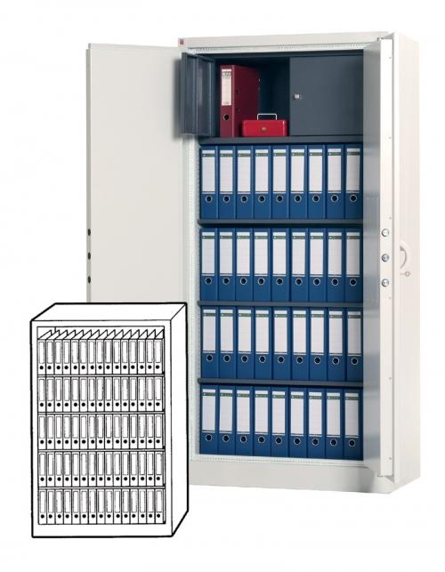 Sistec Aktenlagerschrank TSS 4 (Standard)