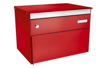 Stebler Briefkasten s:box 13, RAL 3000 Feuerrot