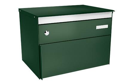 Stebler Briefkasten s:box 13, RAL 6005 Moosgrün