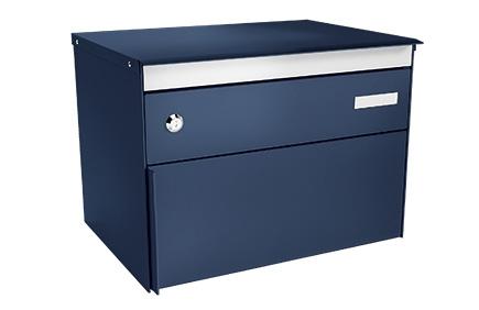 Stebler Briefkasten s:box 13, RAL 5003 Saphirblau