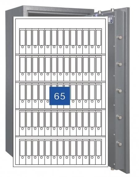 Format Wertschutzschrank Gemini Pro 80 / 2-flg.