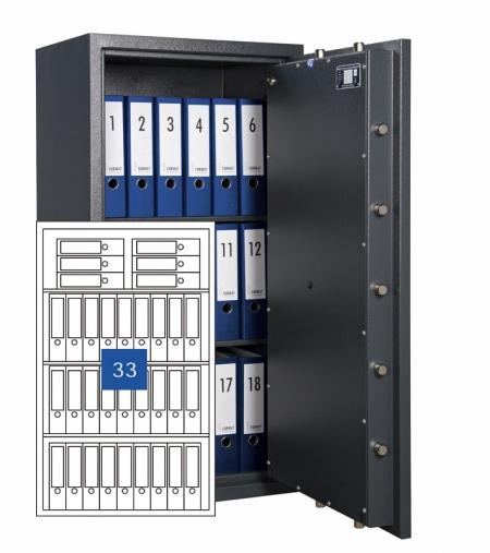 Format Wertschutzschrank Libra 80z - 2 Türig
