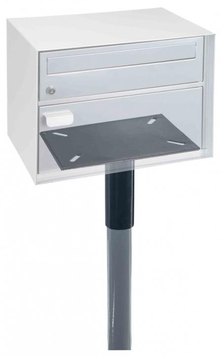 Adapter und Ständer für Rottner Briefkasten mit Paketfach