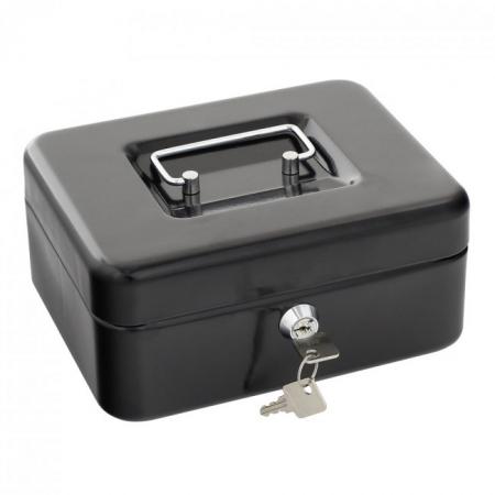 Rottner Geldkassette Traun 2 schwarz - nicht originalverpackt
