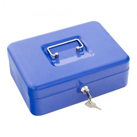 Rottner Geldkassette Traun 3 Blau mit 5 Fächern - nur 1 Stueck