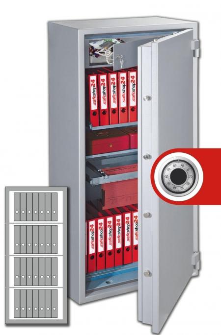 DSP Feuersicherer Dokumentenschrank Organisation 150