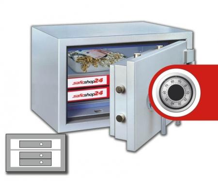 DSP Feuersicherer Wertschutzschrank FeuerPlus 40