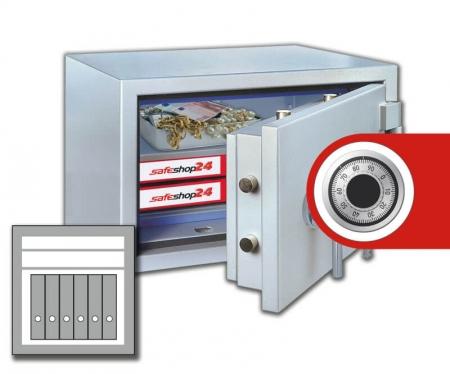 DSP Feuersicherer Wertschutzschrank FeuerPlus 65