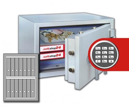 DSP Feuersicherer Wertschutzschrank FeuerPlus 80